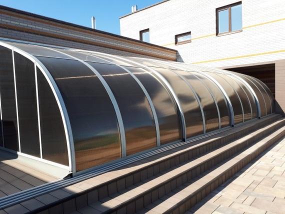 Строительство павильонов и жалюзей для бассейнов в Татарстане
